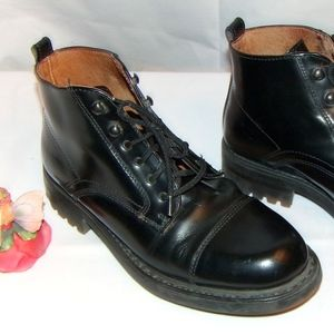 Kenneth Cole Reaction Heavy Boots Combat Boots 9